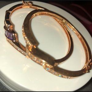 Golden Jeweled Bangles/Bracelets BUY 2 GET 1 FREE